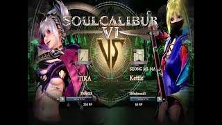 Soul Calibur VI Tira Vs Seong Mi Na CAC Ranked