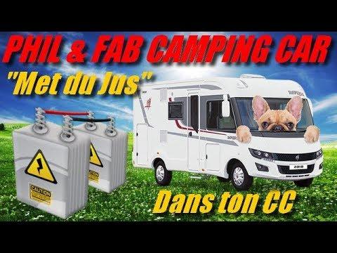 """Phil & Fab Camping car #49 """" met du jus dans ton CCar """""""