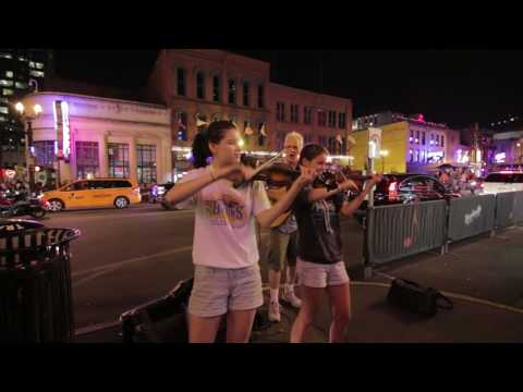 Orange Blossom Special  on Broadway  Nashville Tennessee  Music City Strings