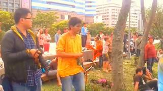 Holi celebration in Taipei, Taiwan 2013 - Bhajan Rawat