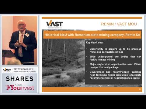 Vast Resources (VAST) - Shares Investor Evening