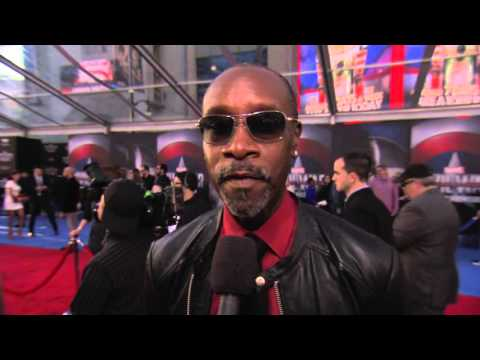 "Don Cheadle - ""James Rhodes / War Machine"" Captain America Civil War Premiere"