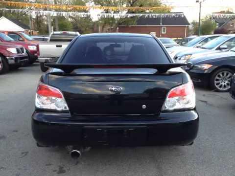 Subaru impreza rs 2007