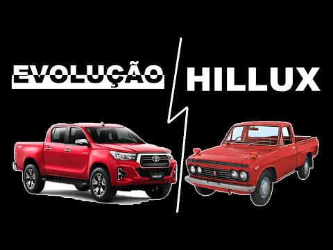 Toyota Hilux Evolution in 50 Years