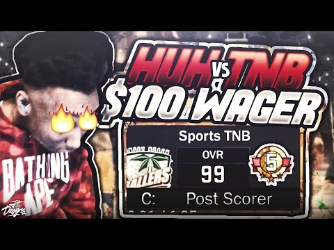 HUH VS TNB $100 WAGER!!! LOOK WHAT I DID TO THIS SS5 JETPACK!! EXPOSED!! NBA 2K17