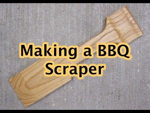 Making a BBQ Grill Scraper