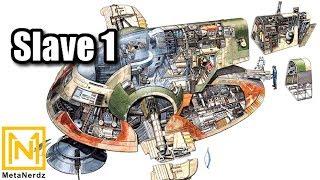 Slave 1 IN-DEPTH Breakdown! - Boba Fett and Jango Fett Ship Explained - Star Wars Ship Lore