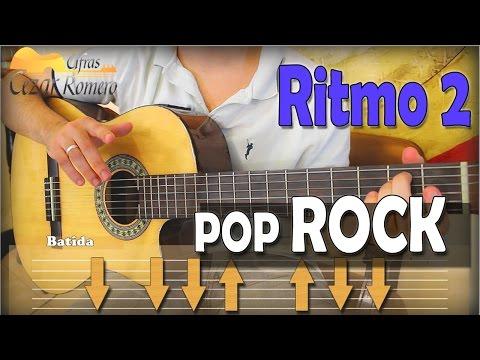 BATIDA 2 POP ROCK - Aula de Violão Ritmo Fácil para INICIANTES