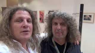 Thomas und Zoran ARTvolles Selfie 1 in der Galerie 2