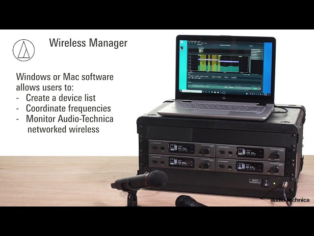 Wireless Manager Software Tutorial | Monitor Tab