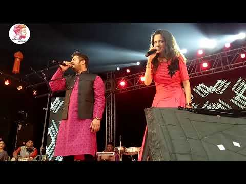 Ketaki Mategaonkar and swapnil bandodkar live performance Mala Ved Lagale Premache|HD4K Full Screen