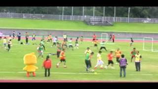 清水エスパルス サポーターズサンクスデー2012 ミニサッカー一般の部 橙...