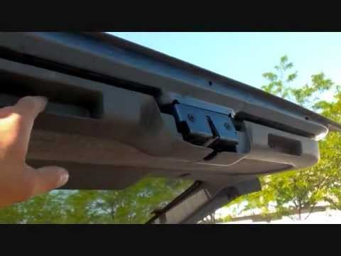 Jeep Cherokee Back Door Latch or Lever fix - YouTube