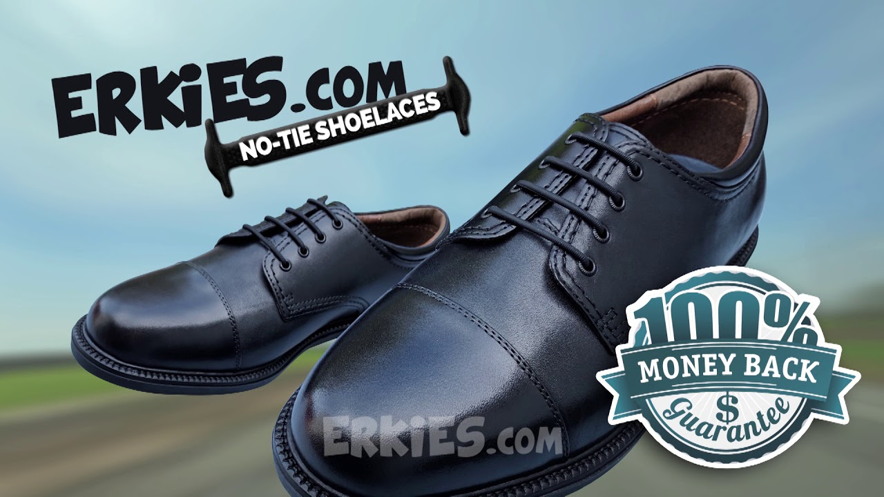14c665f76db2c No Tie Shoelaces For Dress Shoes - YouTube