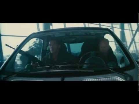 The Expendables 2 movie clip. Smart Car
