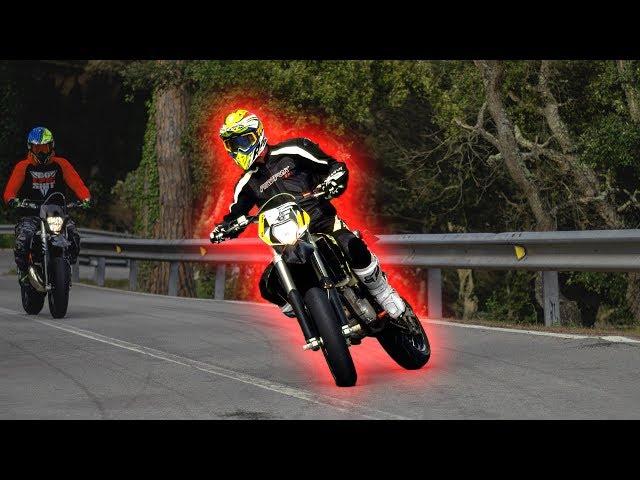 Crazy Supermoto rideout in Spain   David Bost