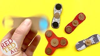 How to make a Fidget Spinner DIY WITHOUT Bearings - great easy Fidget Spinner Toy DIY
