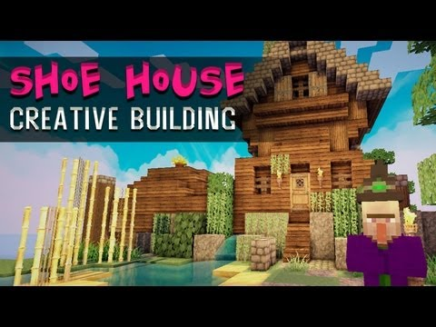 Shoe House :: Minecraft Creative Building