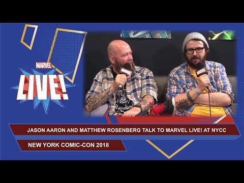 Secrets of Marvel Comics revealed with Jason Aaron and Matt Rosenberg