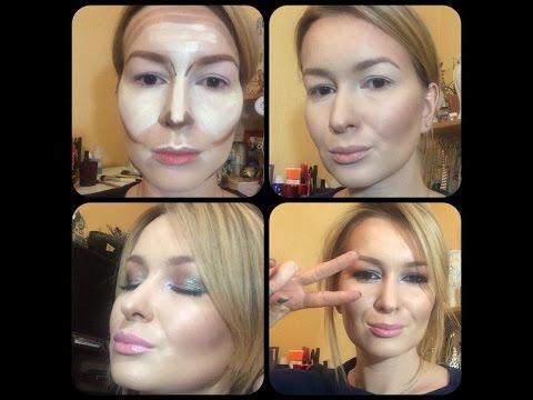 Контурирование, Коррекция, Скульптурирование лица. Макияж для фото и видео./Anna Sablina