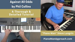 How to Play Against All Odds (Phil Collins), Free Tutorial!