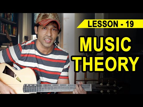 LESSON - 19  MUSIC THEORY  (90 Days Basic Guitar Course) BY VEER KUMAR (HINDI)