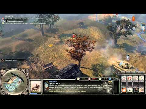 Company of Heroes 2 - Case Blue DLC - Tiger Ace - General Difficulty