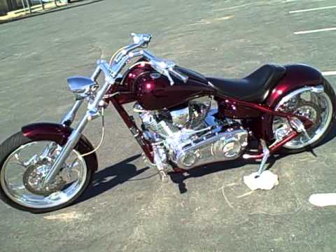 FOR SALE 2005 Big Dog Pitbull Pro Street Custom Chopper Motorcycle 5,211 Miles $12,999!