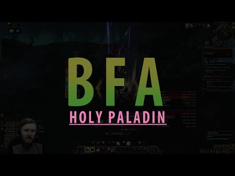HOLY PALADIN CHANGES - BfA BETA | THE RNG HEALER!? The Underrot Gameplay | Battle For Azeroth