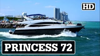 Princess 72 | Yacht in Motion DOWN TIME