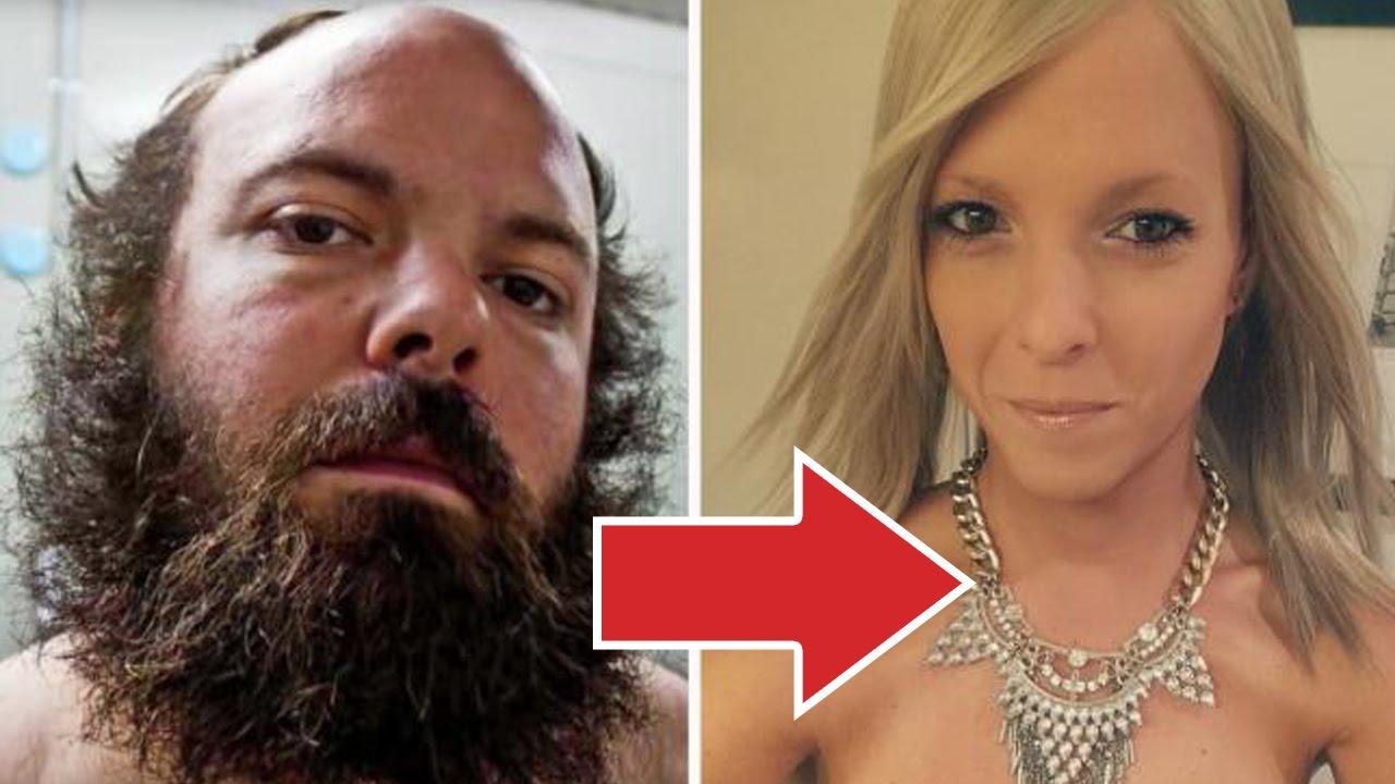 Фото как меняют пол муж на женский