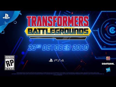 Transformers: Battlegrounds - Teaser Trailer | PS4