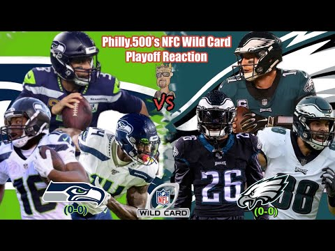 Seahawks VS Eagles   Live Stream Reaction   NFC Wild Card Playoffs