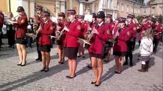 Miejska Orkiestra Dęta z OSP Szydłowiec - Częstochowa / Jasna Góra 14.10.2012r. / Czarna Madonna