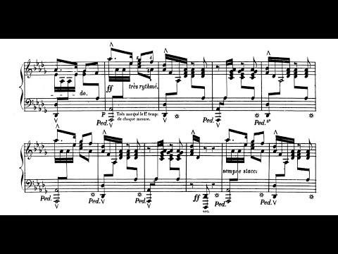 Gottschalk - Bamboula, Op. 2 - Alan Feinberg Piano