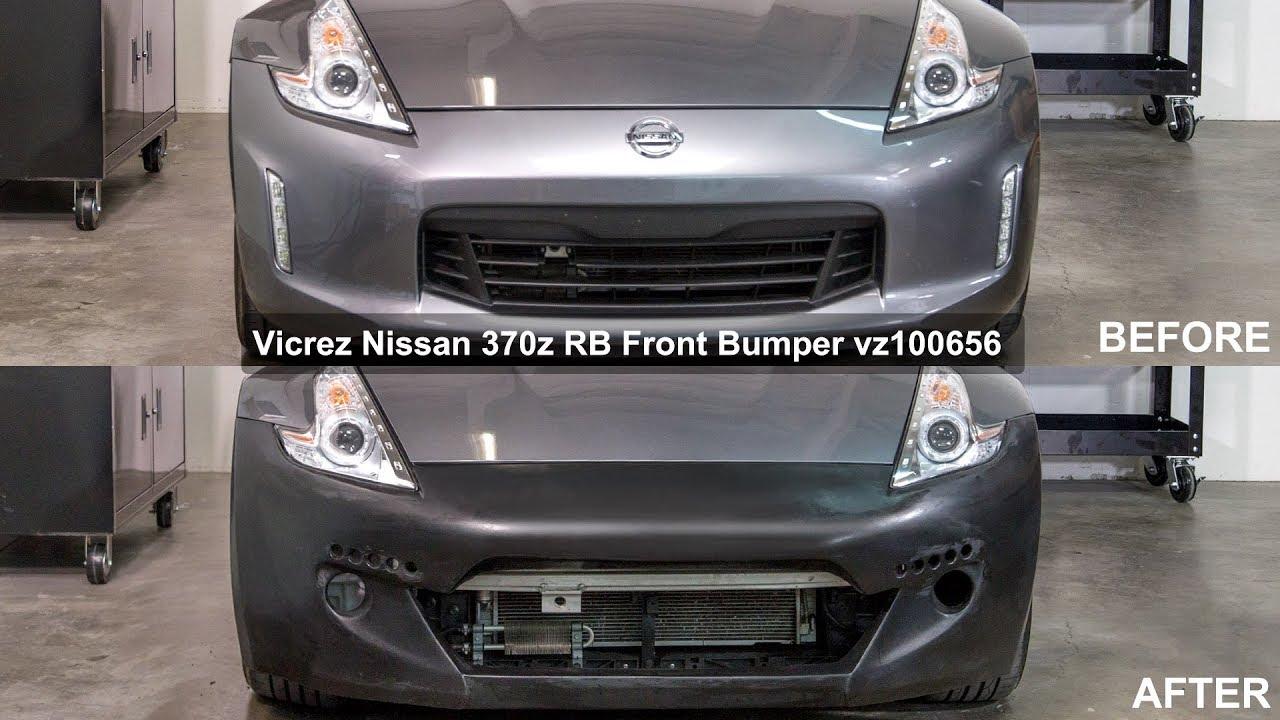 Vicrez Nissan 370z 2009 2018 Rb Front Bumper Vz100656 Review