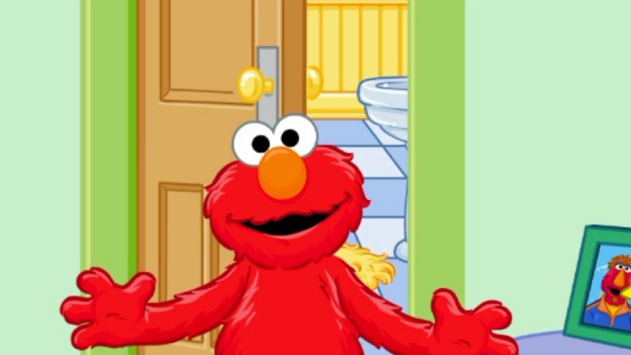 elmo potty time for toddlers
