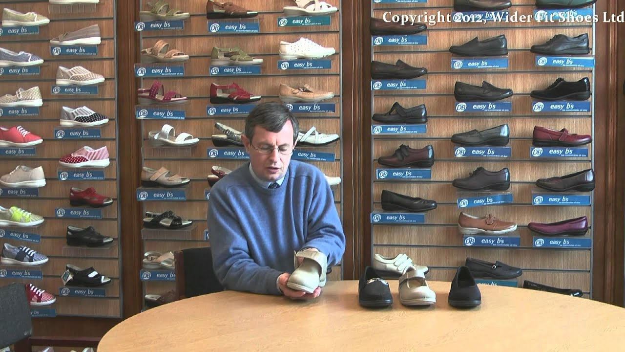 DB easyb and Wider Fit Shoes - YouTube
