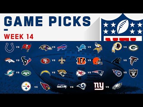 Week 14 Game Picks   NFL 2019