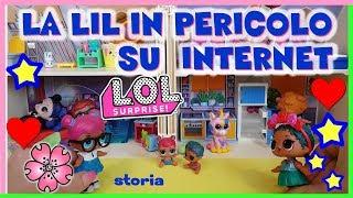 Baixar LOL SURPRISE = LIL COCONUT SI METTE IN PERICOLO SU INTERNET Storia By Lara e Barbara