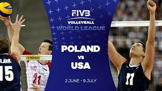 Poland v USA highlights - FIVB World League