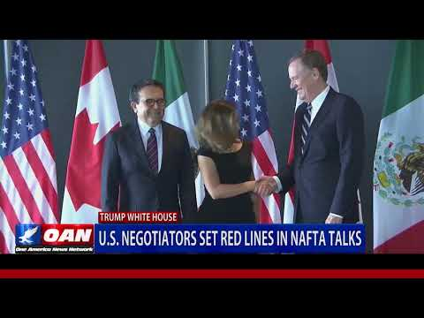 U.S. Negotiators Set Red Lines in NAFTA Talks