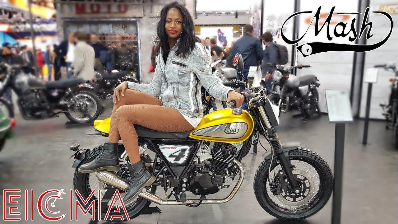 Eicma 2017 visite du stand mash youtube for Salon de milan moto 2018