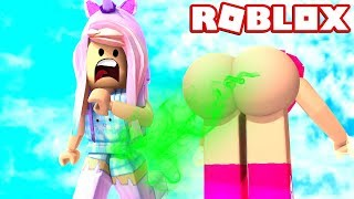 EWW! GROSSEST FART EVER LET'S PLAY ROBLOX FART ATTACK!