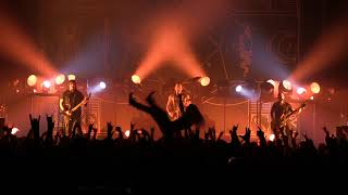 """TRIVIUM """"The Heart From Your Hate"""" live @ M Telus(Metropolis) Montreal. 5/11/2017"""