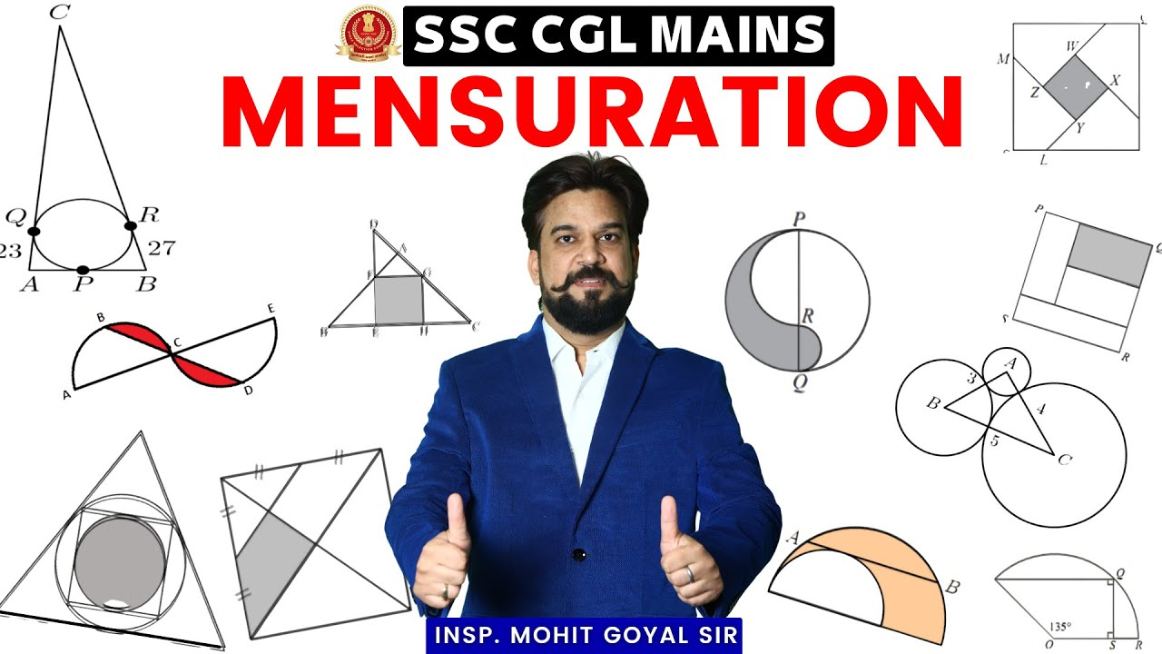 Mensuration (क्षेत्रमिति)   Special Class   SSC CGL Mains Free Batch By Mohit Goyal Sir