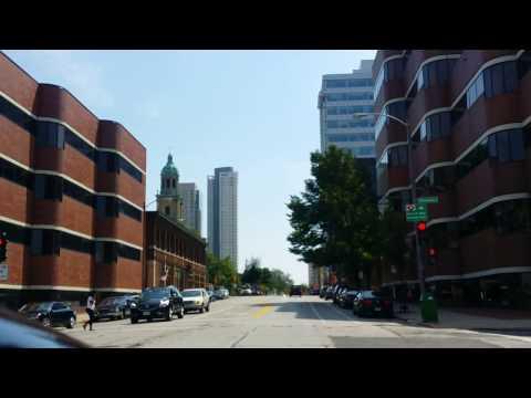Driving Through Downtown Milwaukee (Milwaukee, Wisconsin)