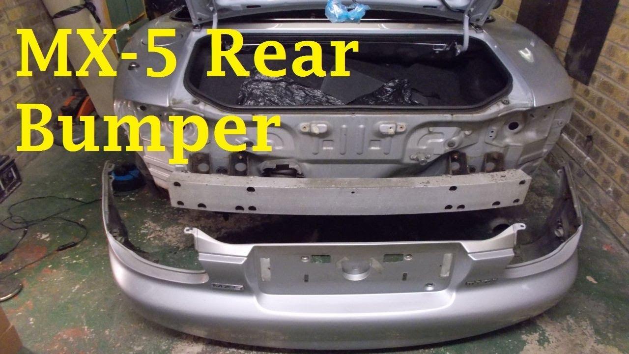 Mazda MX-5 Rear Bumper Removal