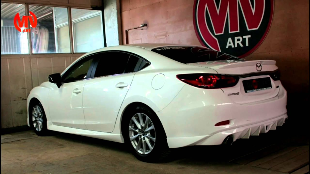 tuning mazda 6 skyactiv sport diffuser by mvtuning youtube. Black Bedroom Furniture Sets. Home Design Ideas