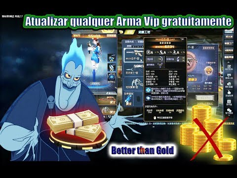 Blood Strike :Melhor Que OURO !Upgrade Your VIP Weapons For Free ! Global Strike